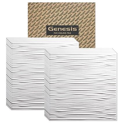 Awesome 16X32 Ceiling Tiles Big 20X20 Ceramic Tile Rectangular 4 Inch White Ceramic Tiles 704A Armstrong Ceiling Tile Old Acoustic Ceiling Tile Paint ColouredAdhesive Bathroom Floor Tiles Amazon.com: Genesis Drifts White 2x2 Ceiling Tiles 3 Mm Thick ..