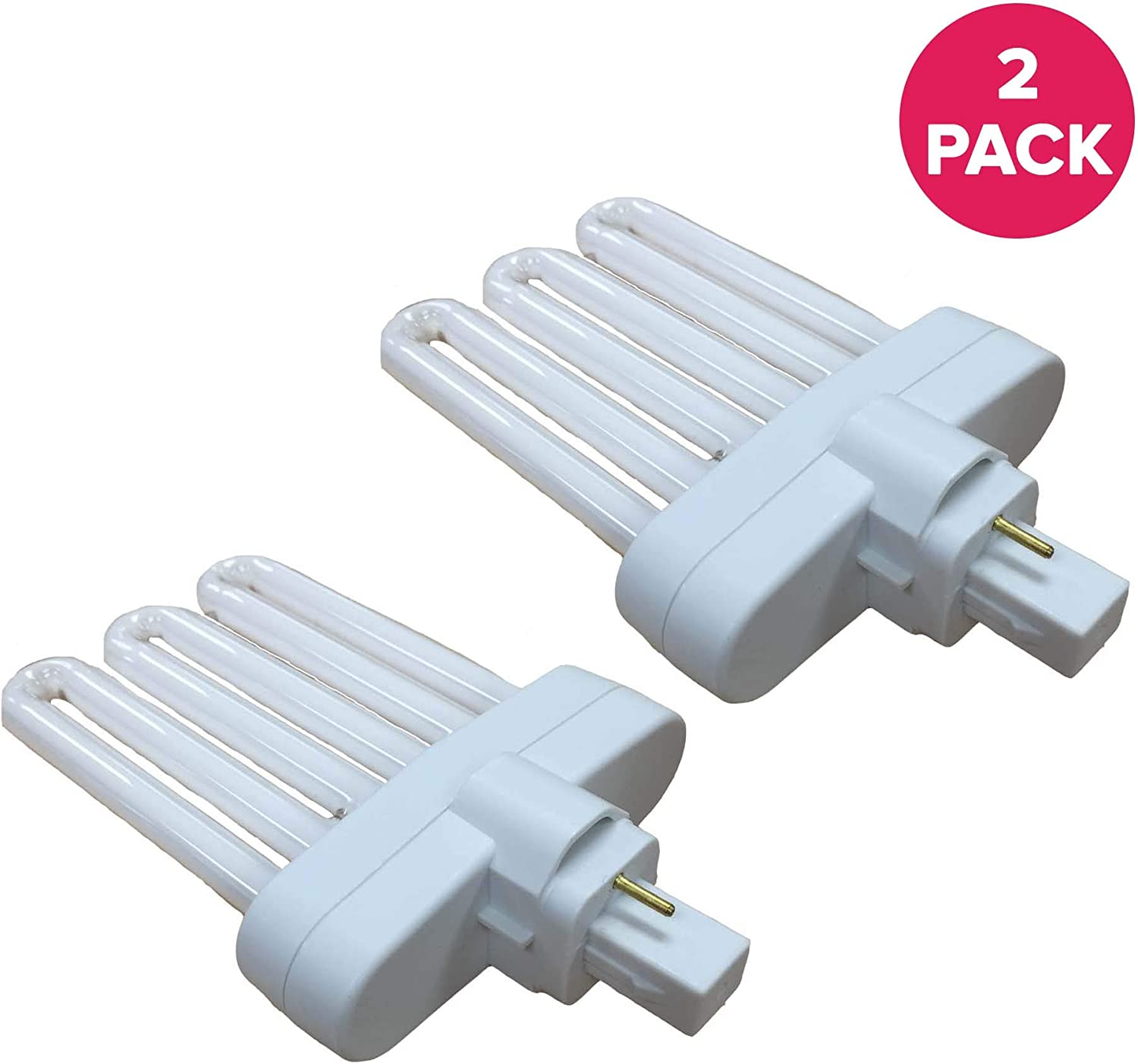 Think Crucial 2 Replacement for Miracle-GRO AeroGarden B Grow Bulb, Fluorescent Light Projection, 7 x 5 x 4.25 in, Compatible with Part # 970904-0200 & 100340