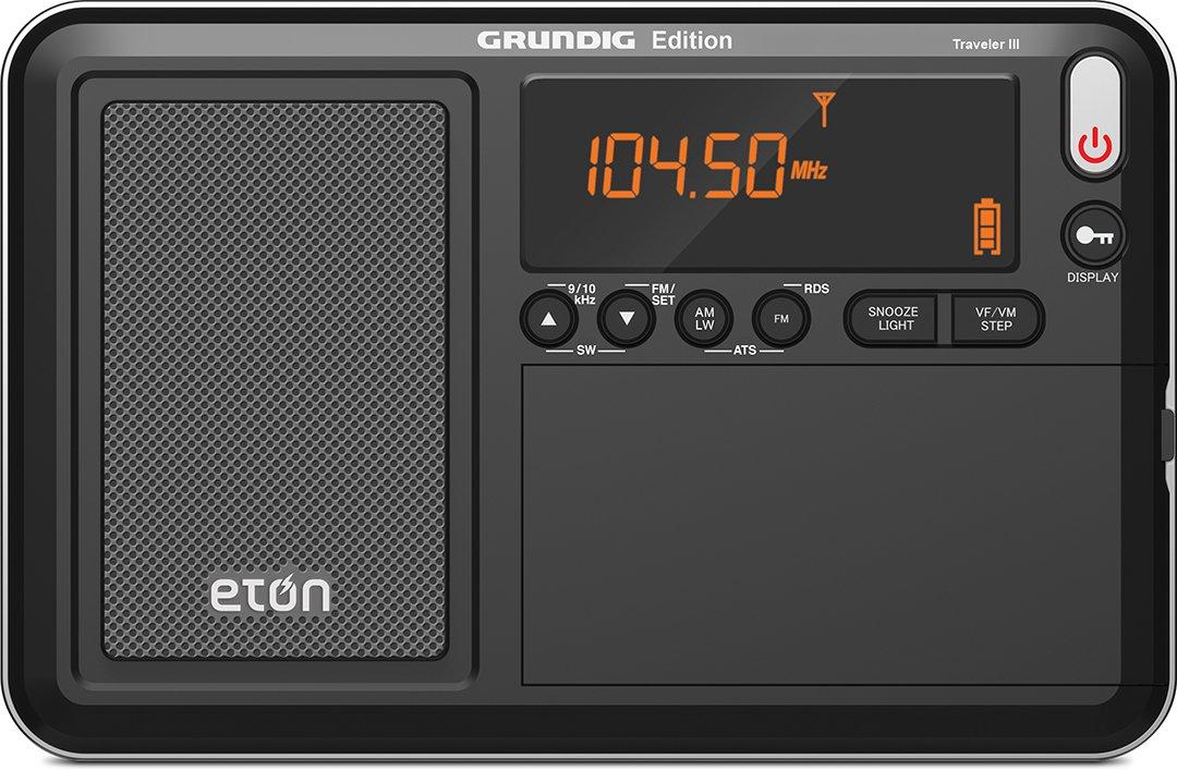 Eton Traveler III AM/FM/LW/SW and Radio with ATS, NGWTIIIB