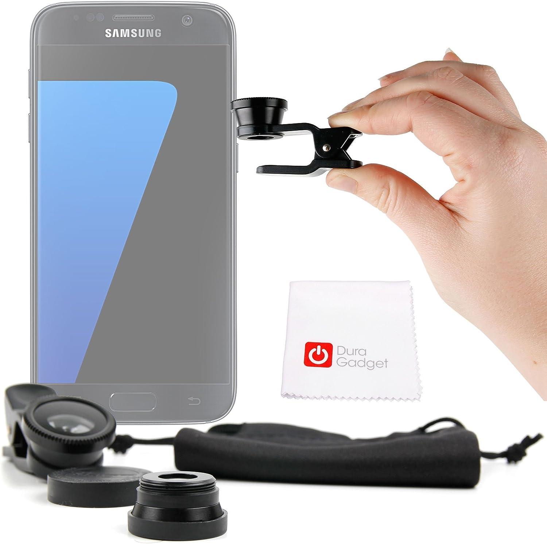 DURAGADGET Kit Lentes 3 EN 1 para Smartphone Leagoo Alfa 1 / Elite 5 / Vodafone Smaart Prime 6 / Smart Ultra 6: Amazon.es: Electrónica