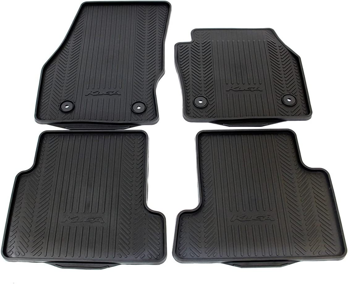 Grey Carpet Insert carmats4u To fit Kuga 2013-2017 Fully Tailored PVC Boot Liner//Mat//Tray