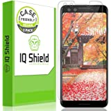 Google Pixel 3 Screen Protector [Case Friendly](2-Pack), IQ Shield LiQuidSkin Full Coverage Screen Protector Google Pixel 3 HD Clear Anti-Bubble Film