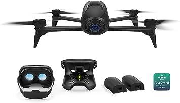 Parrot Bebop 2 Power FPV - Dron cuadricóptero (Full HD 1080P, 14 ...