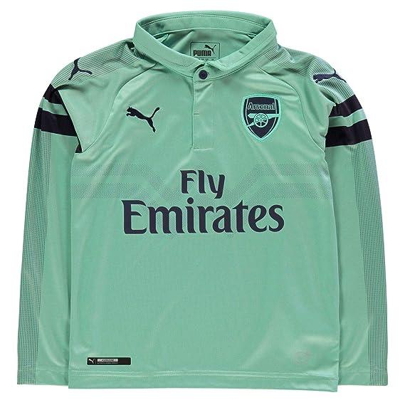 fced1791546 Puma Boys Arsenal Long Sleeve Third Shirt 2018 2019  Amazon.co.uk  Clothing