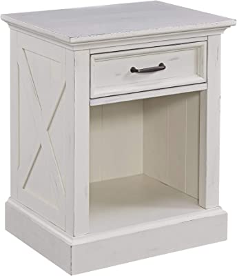 Home Styles 5523-42 Seaside Lodge Night Stand, White