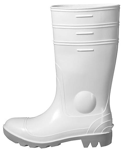 Uvex Nora Botas de seguridad 9476.6 S5 SRC Blanco de PVC Suela 40 color blanco