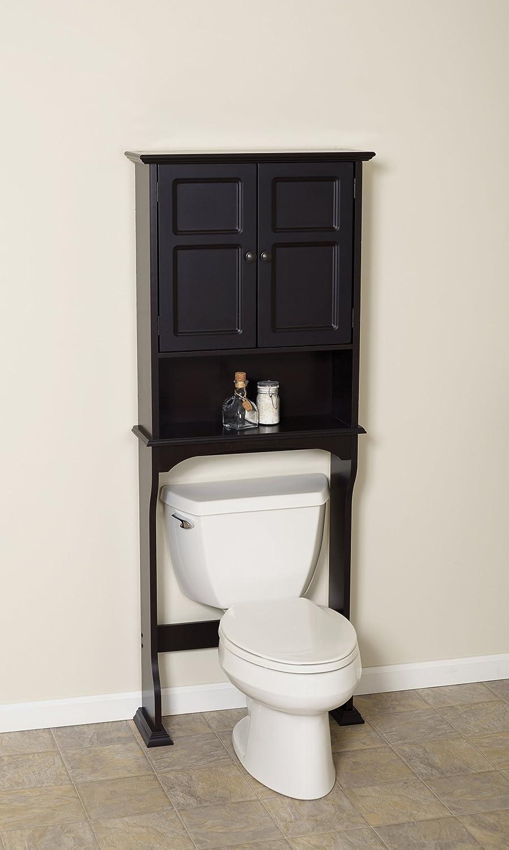 Canadian tire bathroom storage - Amazoncom Zenna Home E9923ch Collette Bathroom Spacesaver Espresso Home U0026 Kitchen
