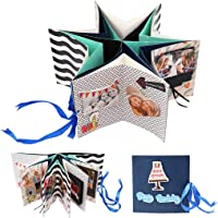 Kicpot Christmas Explosion Box, Scrapbook DIY Photo Album Suprise Box with More Than 18 Kinds DIY Accessories Kit Merry…