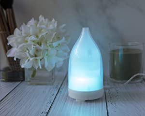 Bella Home International Mini Transparent Cover Essential Oil Diffuser
