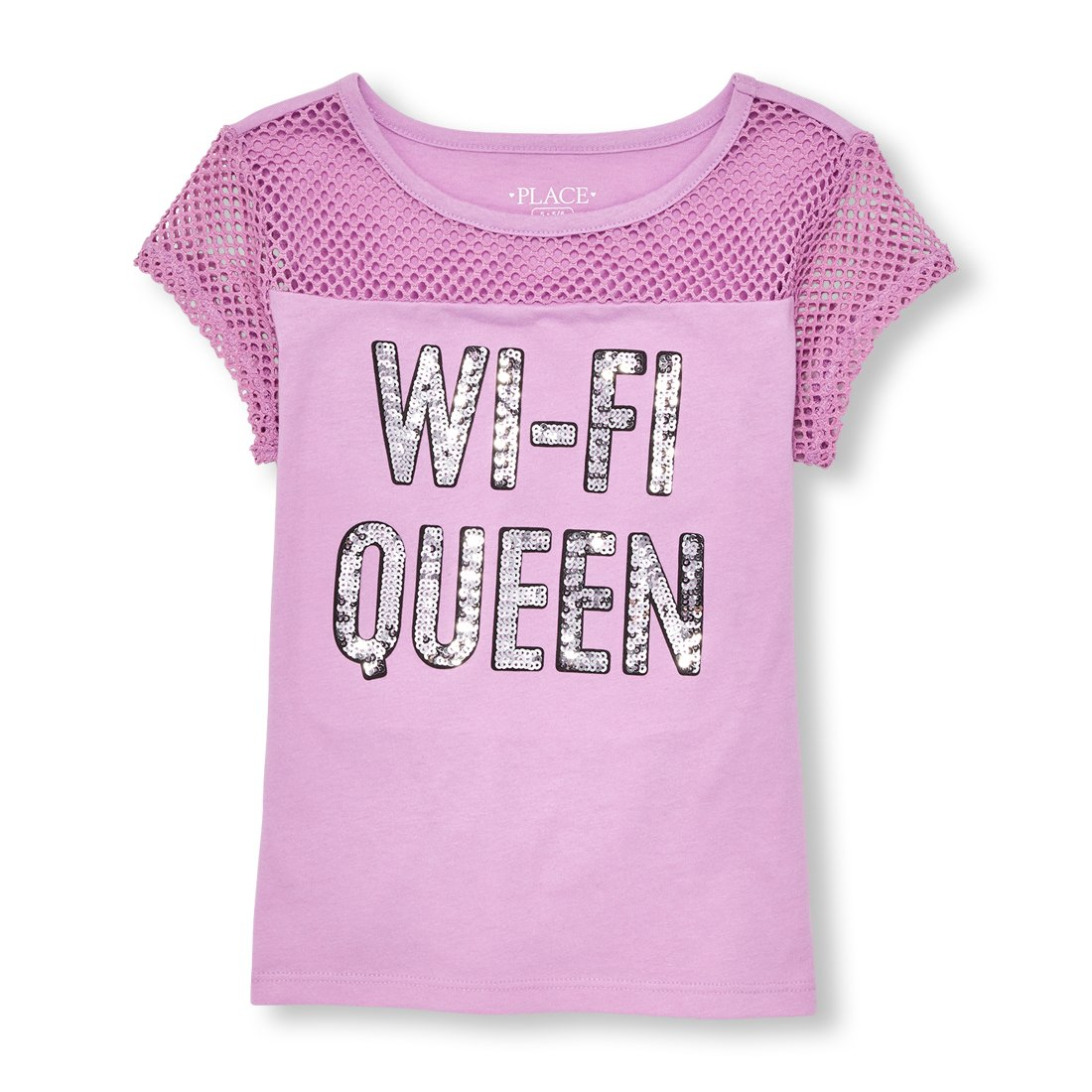 The Childrens Place Big Girls Short Sleeve Graphic Tee