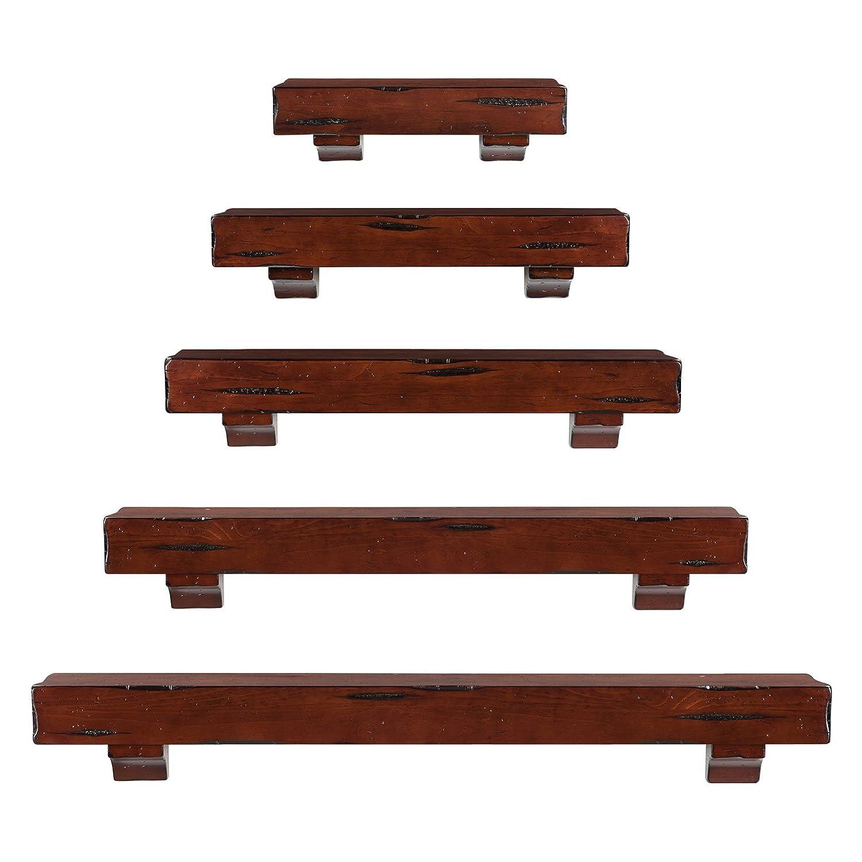 Amazon.com: Shenandoah Fireplace Mantel Shelf Finish: Espresso ...