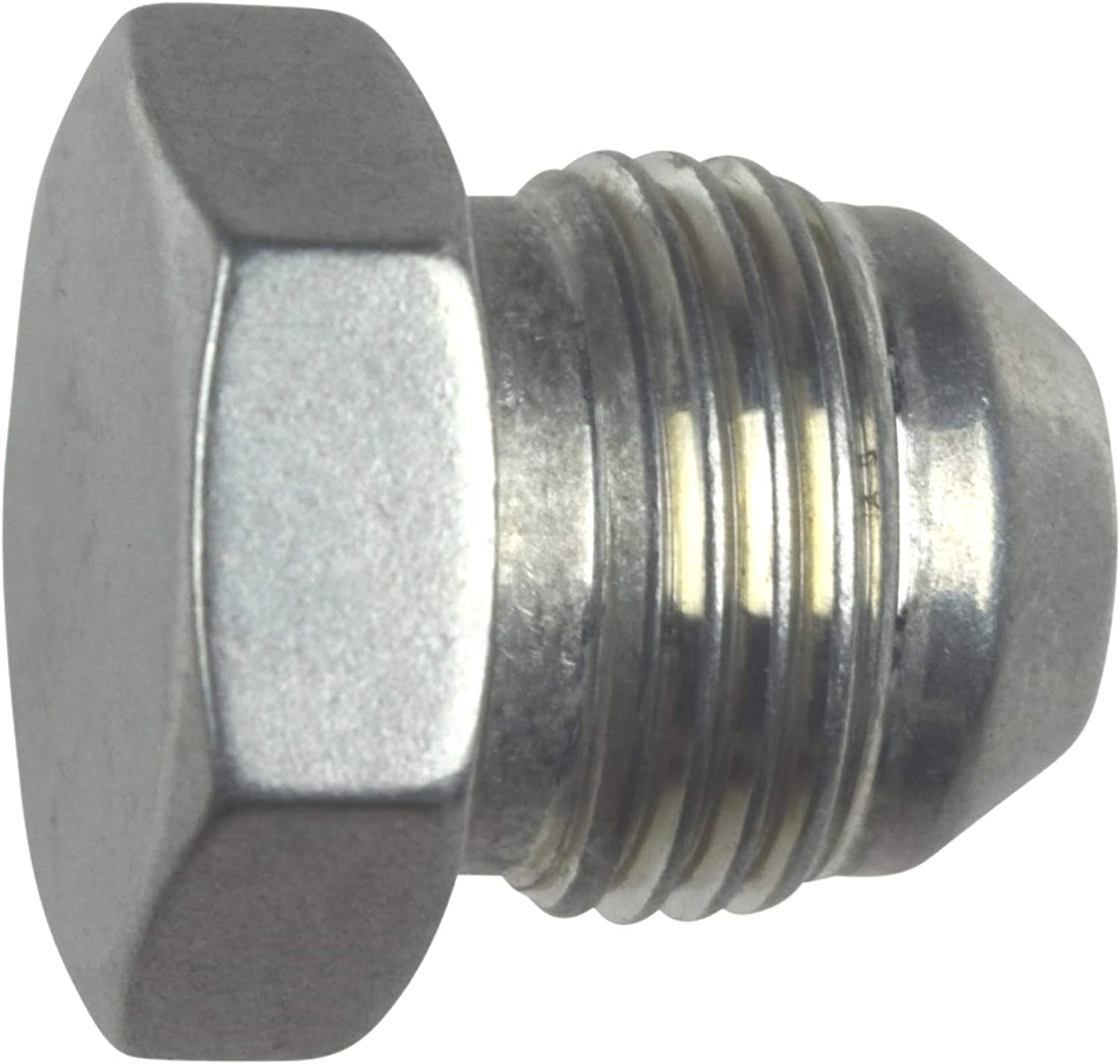 8AN Flare Plug Male Nut 8 AN Block Off Cap Fitting Bare AN806-08A