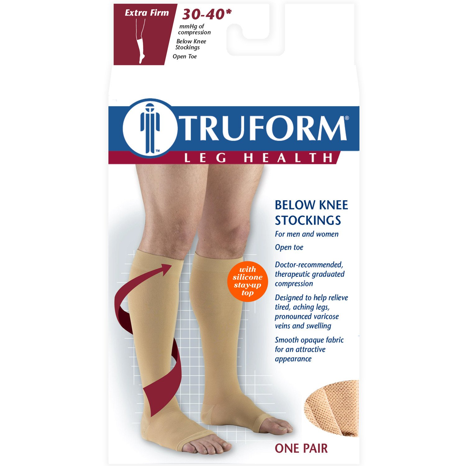 be402e45adf Amazon.com  Truform 0844 Stockings