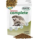Hedgehog Complete - Nutritionally Complete Natural Healthy High Protein Pellets & Dried Mealworms - Food for Pet Hedgehogs