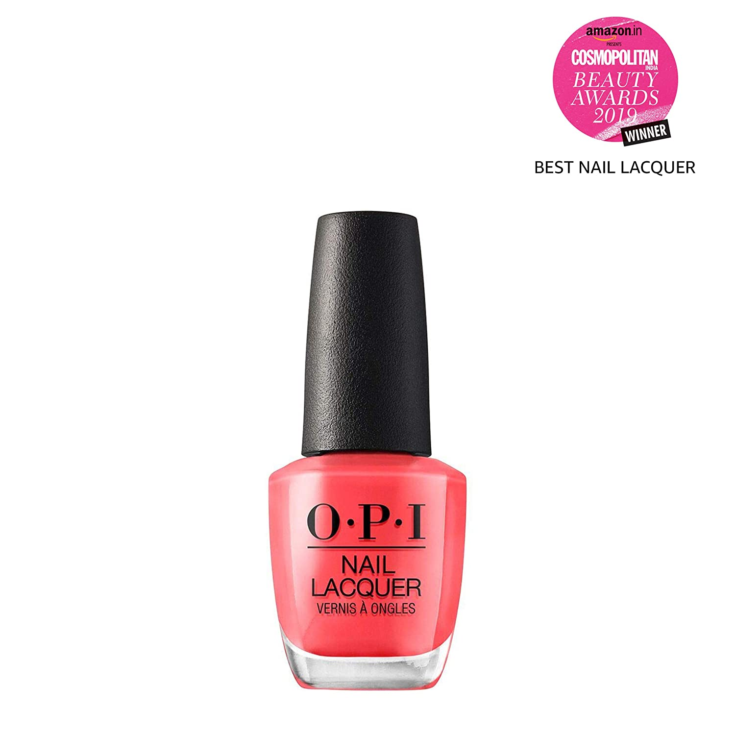 Amazon.com: OPI Nail Lacquer, Hot & Spicy, 0.5 fl. oz.: Luxury Beauty