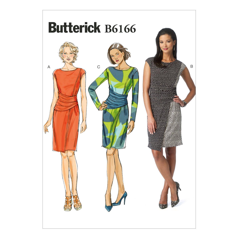 BUTTERICK PATTERNS MCCALL \'s Patterns b6166 a50 de Costura para ...