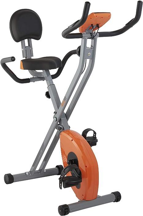 Bodyfit Plegable magnético de Bicicleta de Ejercicios de visualización LCD Equipo Inicio del Entrenamiento con el Tiempo, calorías quemadas y Pulso Medidas (Plegable Bicicleta estática): Amazon.es: Deportes y aire libre