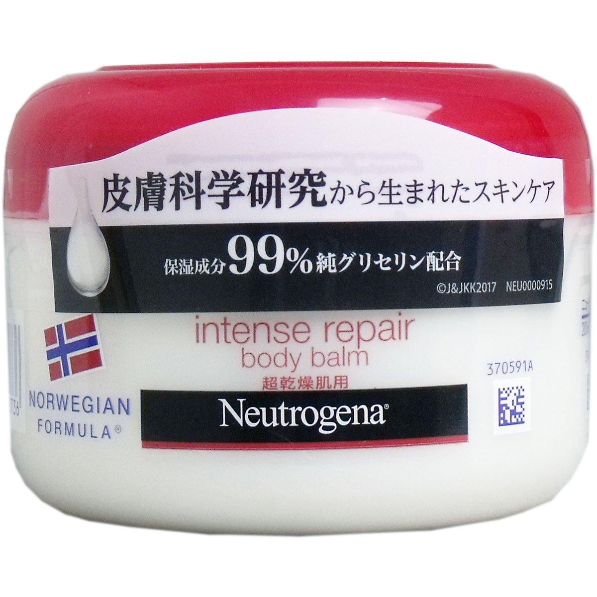 【まとめ買い】Neutrogena(ニュートロジーナ) ノルウェーフォーミュラ インテンスリペア ボディバーム 超乾燥肌用 微香性 200ml×12個 B076SX14HR  12個