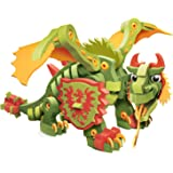 Bloco Toys Combat Dragon   STEM Toy   Fantasy Mythical Creatures   DIY Building Construction Set (155 Pieces)