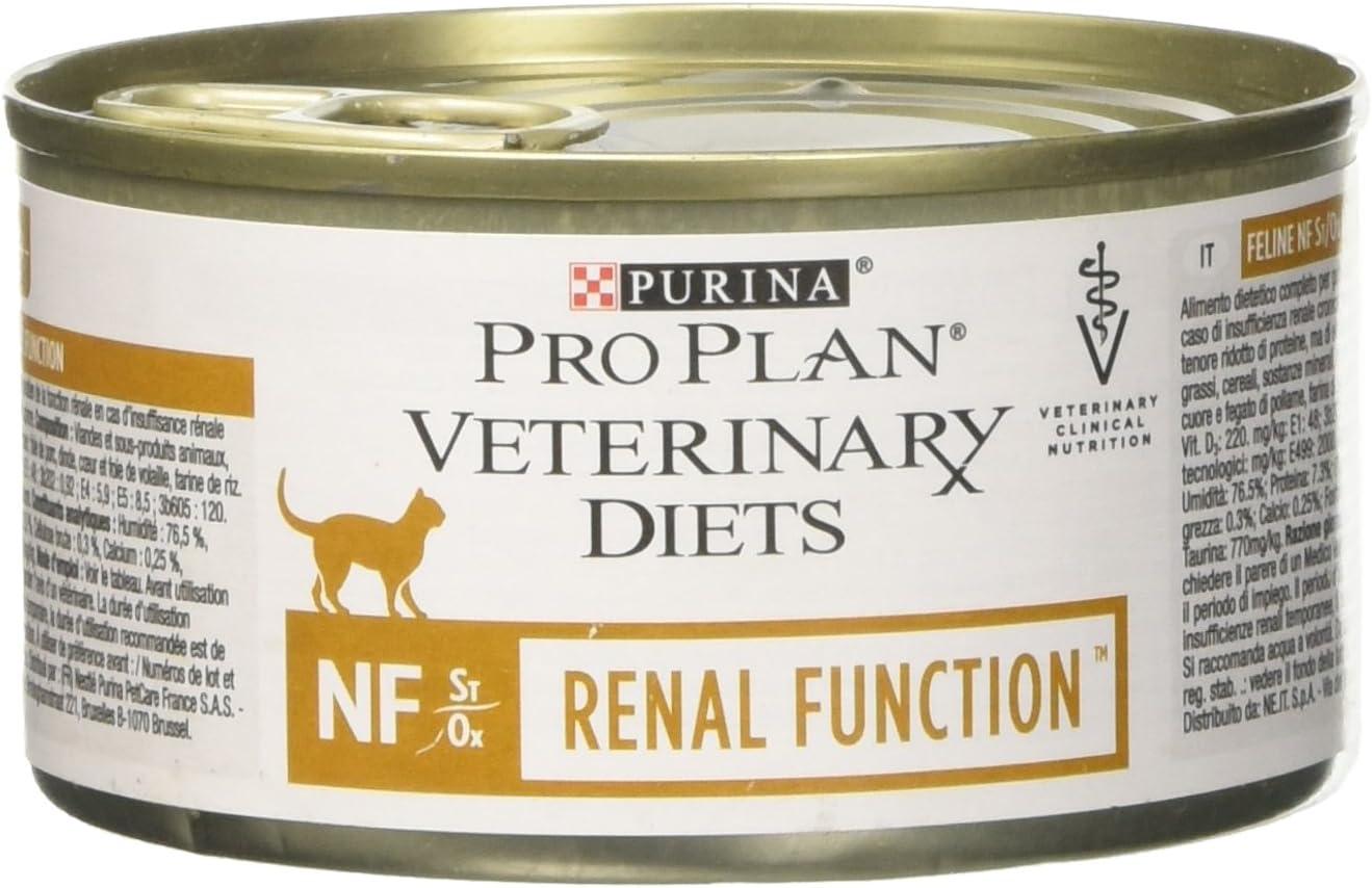Purina Pro Plan Vet Feline Nf Renal Mousse Lata 195Gr 200 g: Amazon.es: Productos para mascotas