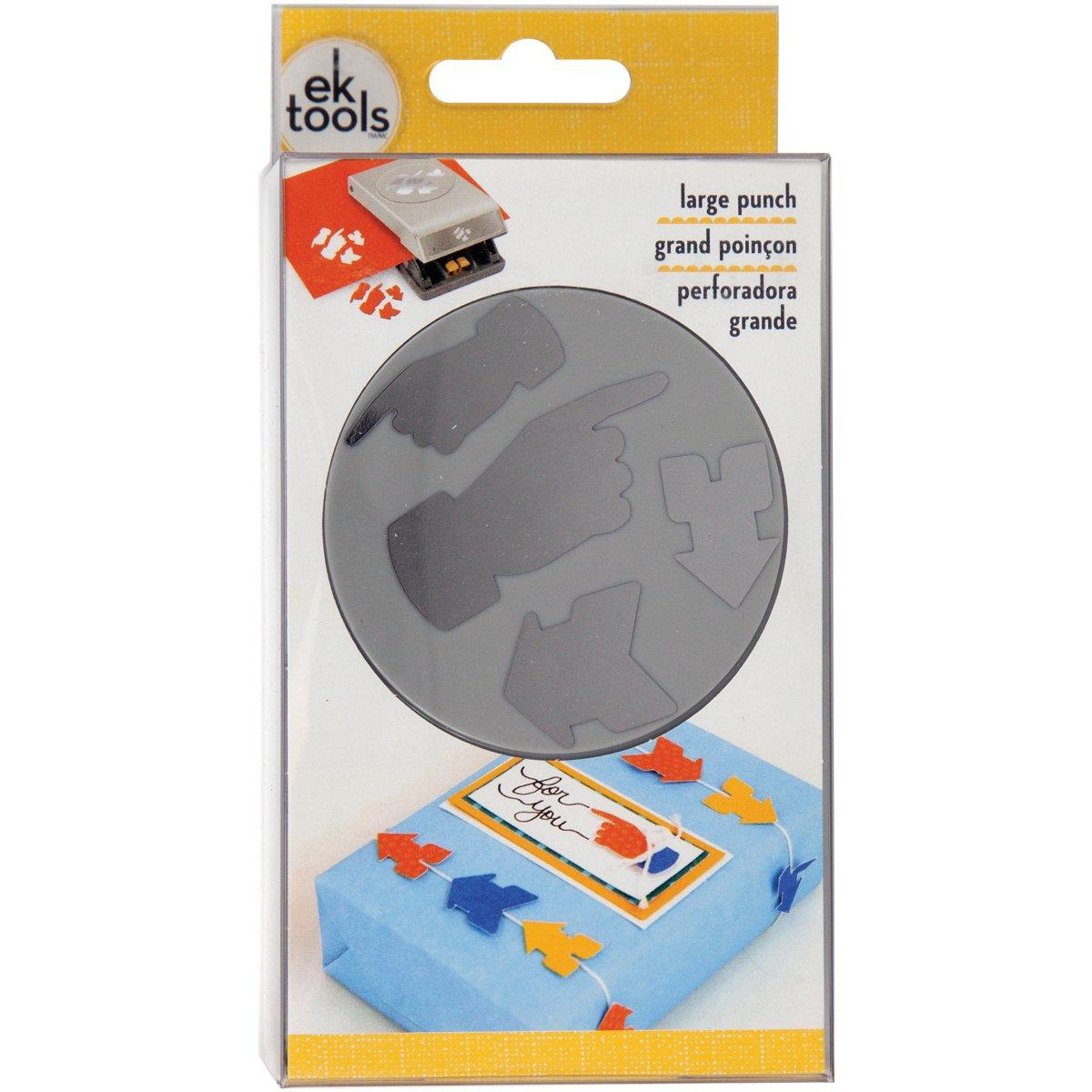 EK Tools Perforadora de papel, grande, instrucciones