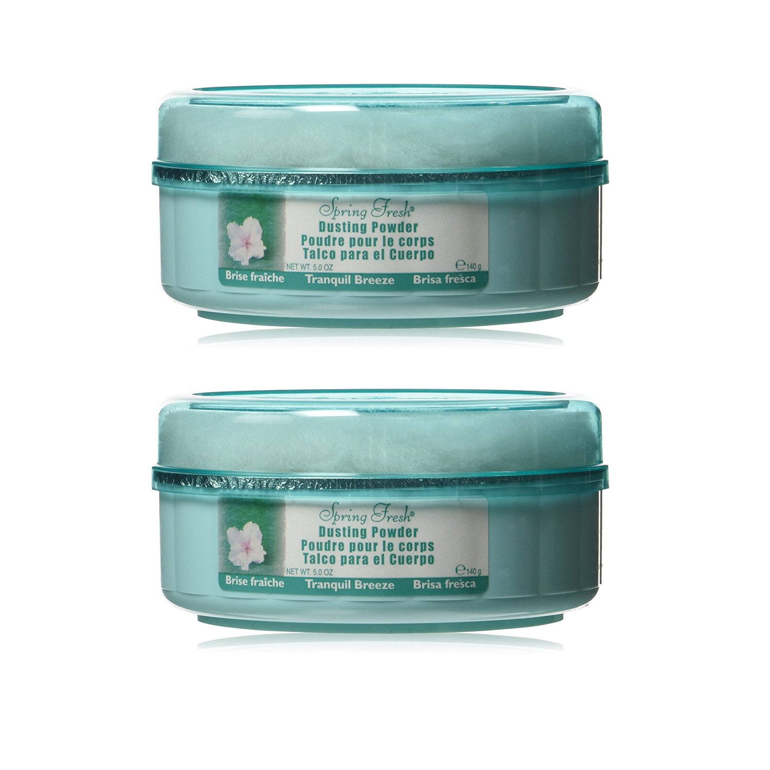 Belcam Bath Therapy Dusting Powder, Tranquil Breeze - Pack of 2