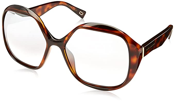 Marc Jacobs Marc 195/S IC 086 57 Gafas de Sol, Marrón (Dark Havana/Grey Ms Slv), Mujer