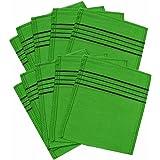 Korean Exfoliating Bath Washcloth 10pcs (Green)