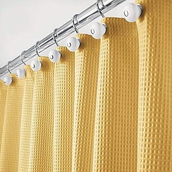 mDesign Rideau de Douche de en 65% Polyester et 35% Coton ...