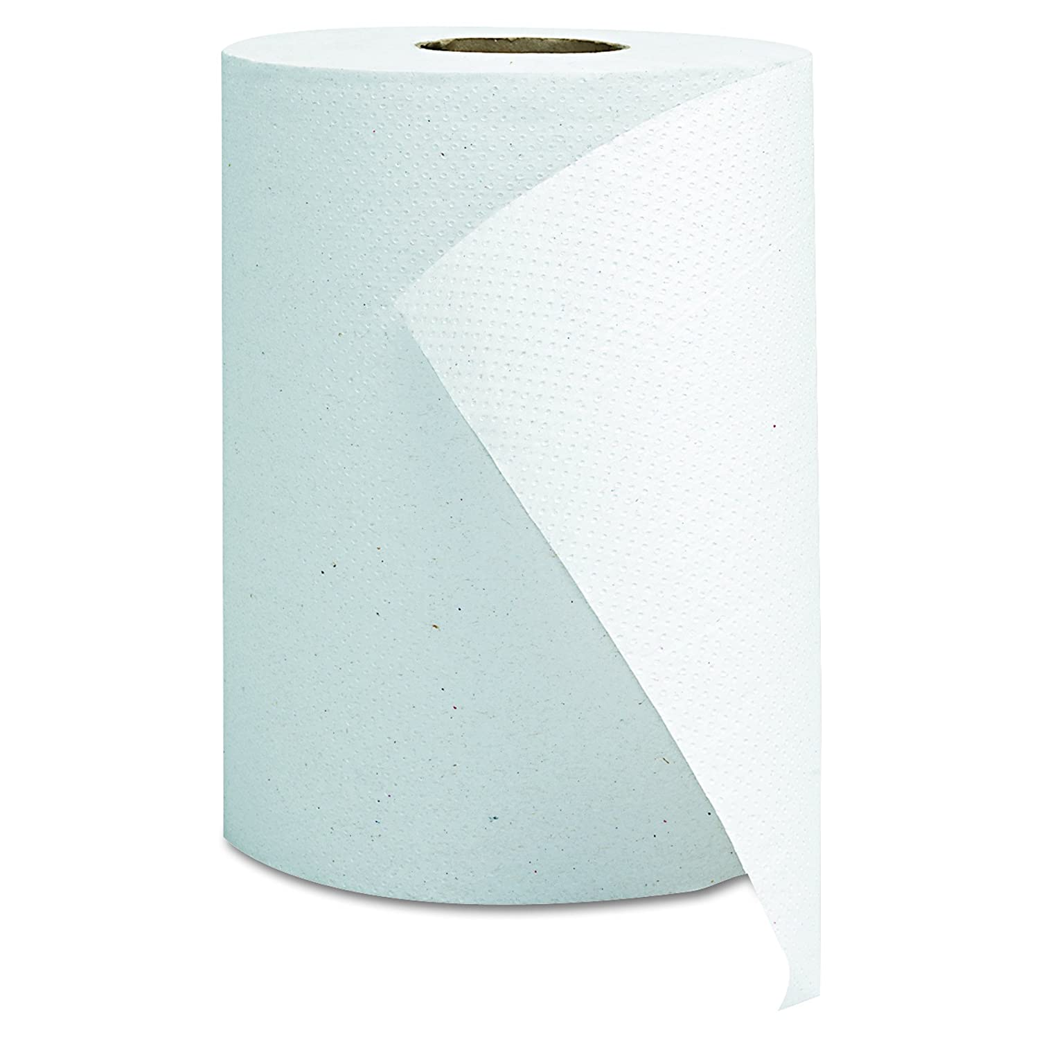 """8/"""" x 350` 12rolls//case 8/"""" White Premium Quality Hard Wound Paper Roll Towels"""