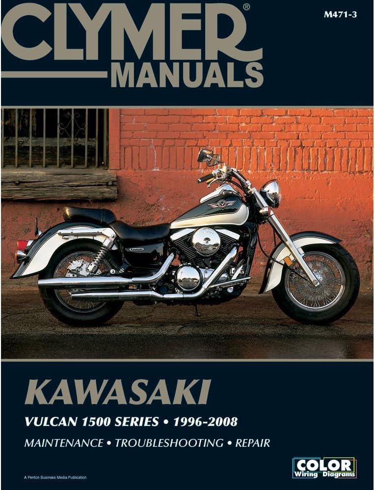 Clymer M471-3 Kawasaki Vulcan 1500 Series 1996-2008 Repair Service Manual