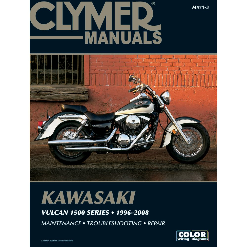 Amazon.com: 1996-2008 CLYMER KAWASAKI MOTORCYCLE VULCAN 1500 SERIES SERVICE  MANUAL M471-3: Manufacturer: Automotive