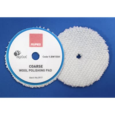 "Rupes BigFoot Coarse Wool 5.75"" Orbital Polishing Pad: Automotive"