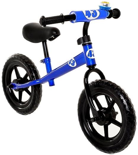 1ed760836c9 Amazon.com: Vilano No Pedal Push Balance Bicycle for Children, Blue ...