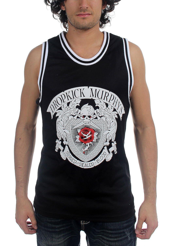 Dropkick Murphys - Mens Signed & Sealed Basketball Jersey Tank Top