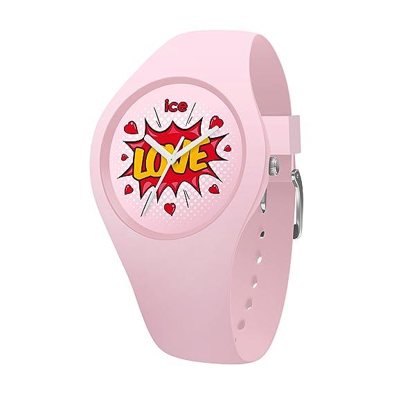 Ice-Watch Reloj Analogico para niñas de Cuarzo con Correa en Silicona 15268