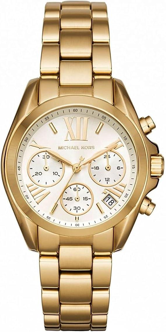 MICHAEL KORS Mini Bradshaw Reloj DE Mujer Cuarzo 36MM Correa DE ...