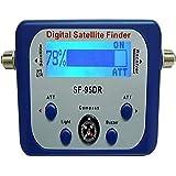 AGPtek Good For Campers Digital Satellite Signal Meter Finder Meter For Dish Network Directv FTA LCD Graphic Display Backligh