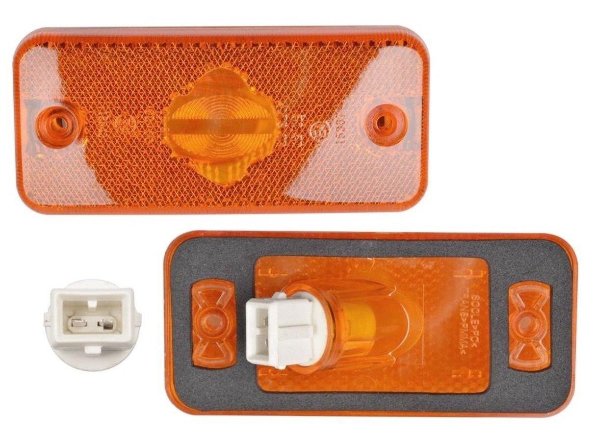 2 x orange Ambre Indicateur côté Feux de gabarit pour Boxer 2006 > Ducato 2006 > Relay Magnum Midlum Premium Ampoules w5 W M621268