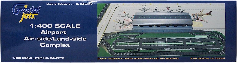 GEMINI JETS GJARPTB AIRPORT Airside Landside SET Scale 1//400 Terminal IN STOCK