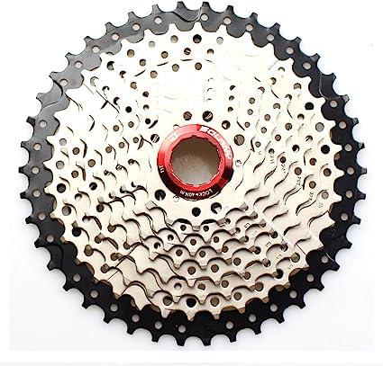 MTB Road Mountain Bike Freewheel 10 Speed 1-40T//11-42T Cassette Sprocket