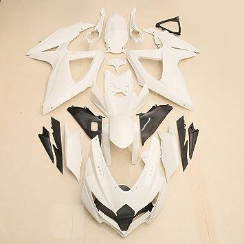 Unpainted Front Nose Upper Fairing For Suzuki GSXR600 GSXR750 2008-2010 K8