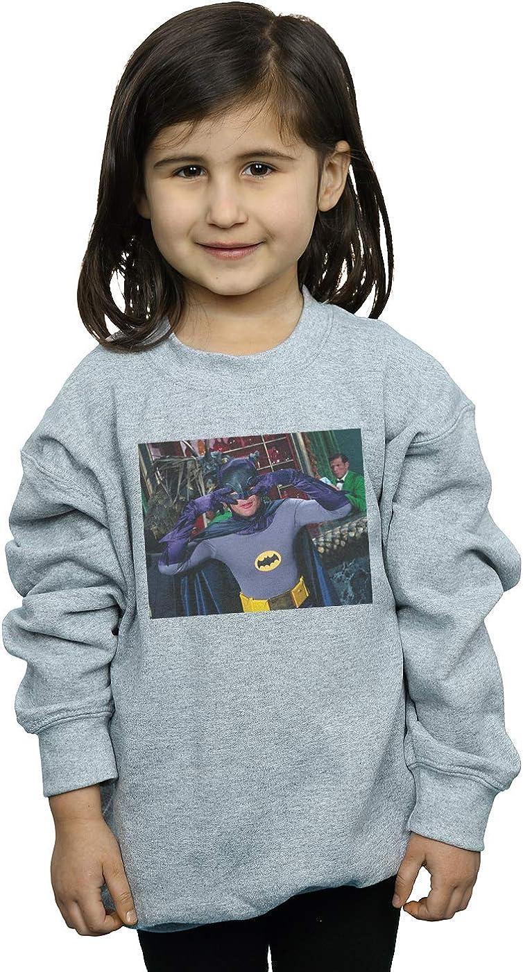DC Comics Girls Batman TV Series Batdance Photo Sweatshirt