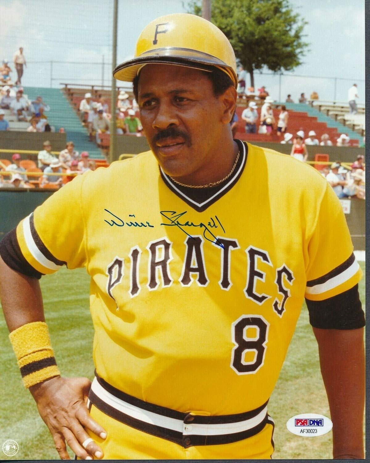 Willie Stargell Pirates Autographed Signed 8x10 Photo Autographed Signed PSA//DNA Af30023