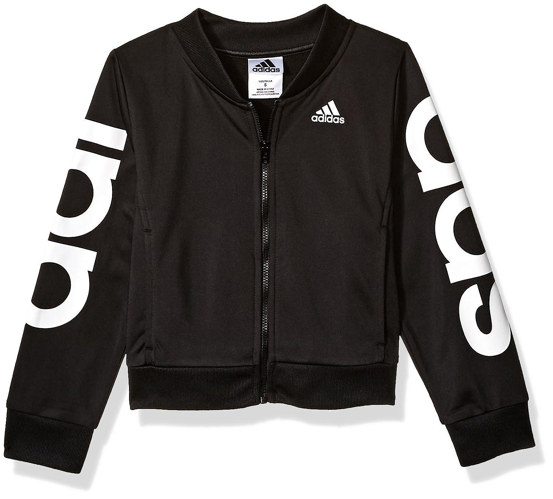80e5261236ece adidas Girls' Bomber Jacket