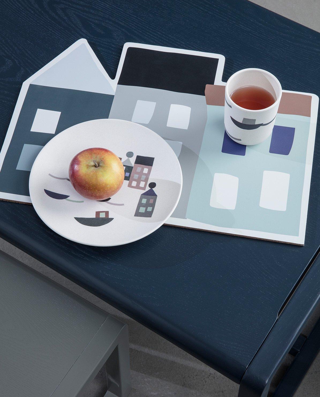 dunkelblau Little Architect Tisch Ferm Living