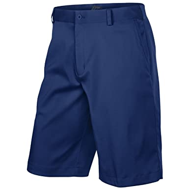 Nike Golf Mens Flat Front Short Midnight Blue ()