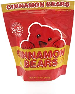 product image for Sweet's Cinnamon Bears Stand-Pouch,16.0 Ounce Bag - PACK OF 4