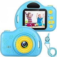 Cámara Digital para Niños Juguete para Niños Regalos Cámara De Vídeo A Prueba De Choques Pantalla HD de 2 Pulgadas 1080P…