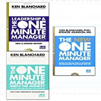 one minute manager series kenneth blanchard 3 books collection set - the one minute manager meets the monkey,leadership and the one minute manager,the new one minute manager